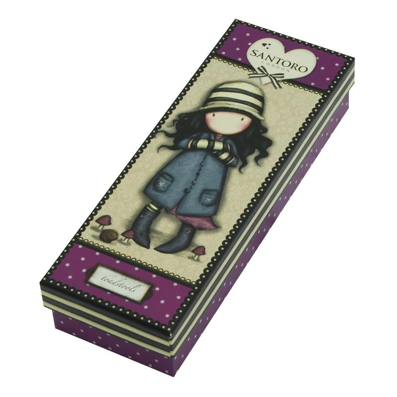 Gorjuss Pix premium si cutie Toadstools