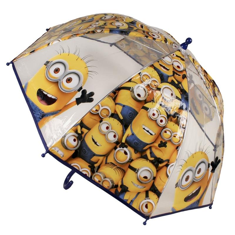 Umbrela transparenta copii - Minions Grup
