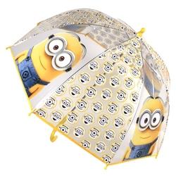 Umbrela transparenta copii - Minions emoticon