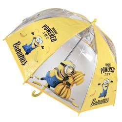 Umbrela transparenta copii - Minions Powered by Bananas