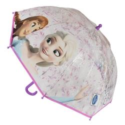 Umbrela manuala transparenta copii - Frozen