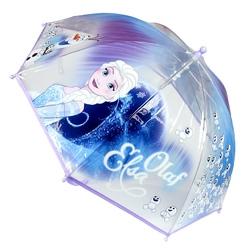 Umbrela manuala transparenta copii Frozen - Olaf & Elsa