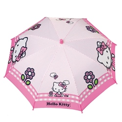 Umbrela manuala (2 modele) - Hello Kitty