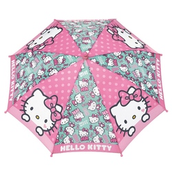 Umbrela manuala baston - Hello Kitty