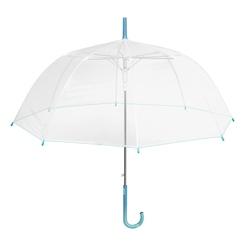 Umbrela transparenta automata baston (3 modele) - Perletti