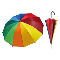 Umbrela automata golf curcubeu - Perletti