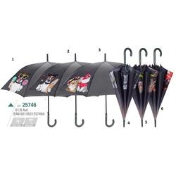 Umbrela automata baston (6 modele animale casa) - Perletti