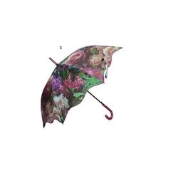 Umbrela automata baston (6 modele flori) - Perletti