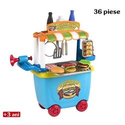 Jucarie de rol - Carucior de hamburgeri