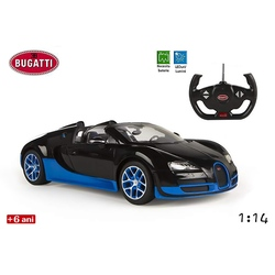Masina Bugatti Veyron 16.4 negru/albastru (mare)