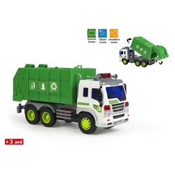 Masina de gunoi cu lumini si sunete (mare)
