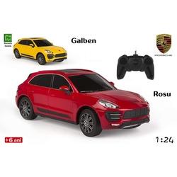 Jucarie masina Porsche Macan Turbo cu radiocomanda