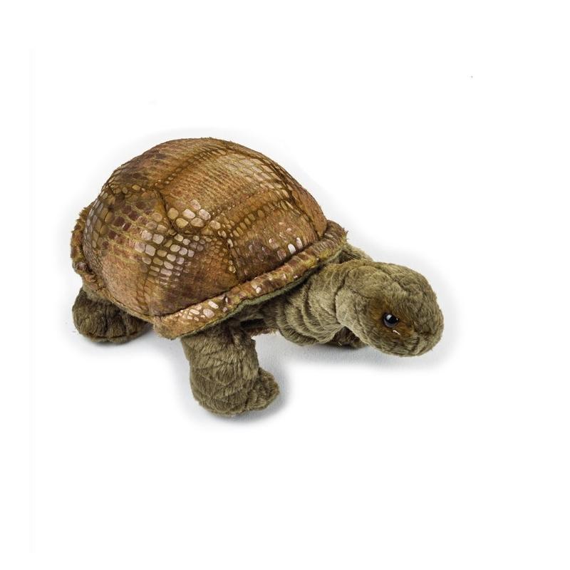 Jucarie din plus National Geographic Pui de animale Galapagos 17 cm Testoasa de Galapagos