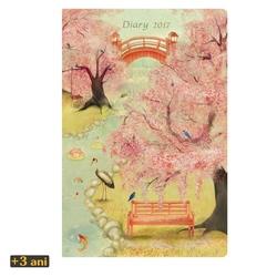 Agenda datata 2017 Eclectic Japanese Garden