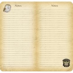 Agenda datata 2017 Book Owls de la Santoro