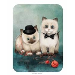 Felicitare Eclectic - Birman Kittens