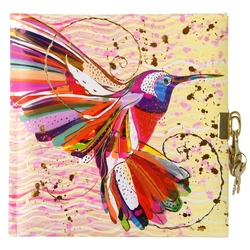 Jurnal lacatel Goldbuch Flower Kolibri