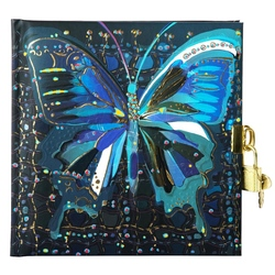 Jurnal lacatel Goldbuch Flower Butterfly 17x17 cm