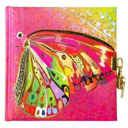 Jurnal lacatel Goldbuch Flower pink Butterfly