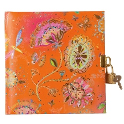 Jurnal lacatel Goldbuch Silver Moon orange