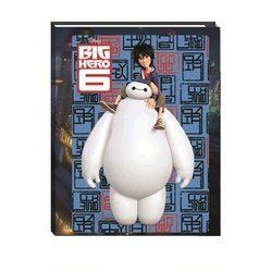 Jurnal 3D Big Hero 6 de dictando