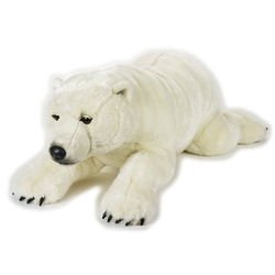 Jucarie din plus National Geographic - Urs polar Gigant 118 cm
