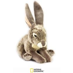 Jucarie din plus National Geographic - Iepure de preerie 22 cm