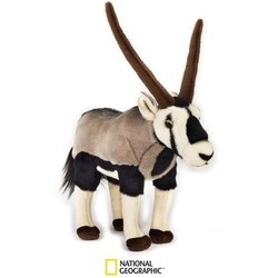 Jucarie din plus National Geographic - Gazela Oryx 29 cm