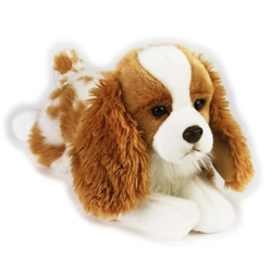 Jucarie din plus - Catel King Charles 36 cm