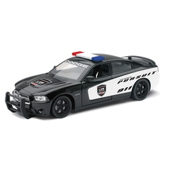 Masinuta diecast politie de urmarire Dodge Charger