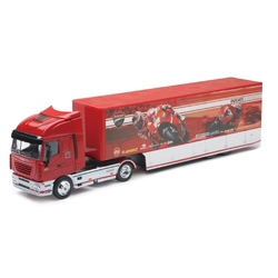 Camion diecast Iveco Stralis Ducati MotoGP Race 2010