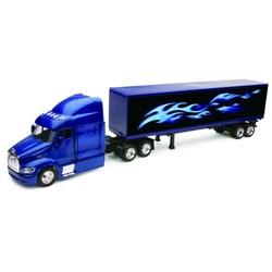 Camion diecast Peterbilt 387 cu container 40'