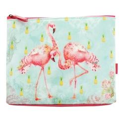 Geanta accesorii mare Flamingos