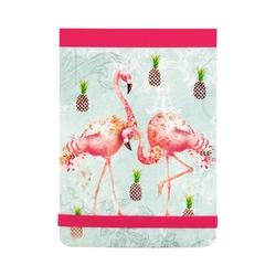 Carnetel de buzunar Flamingos