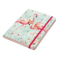 Caiet A5 Flamingos