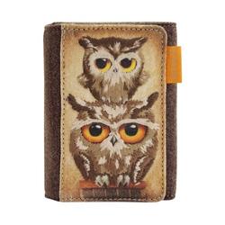 Portofel cu clapeta Book Owls