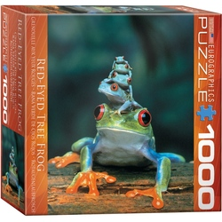 Puzzle 1000 piese Frogs