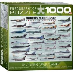 Puzzle 1000 piese Modern Warplanes (mic)