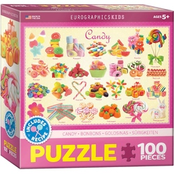 Puzzle 100 piese Candy