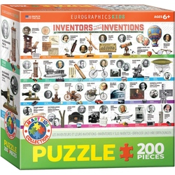 Puzzle 200 piese Inventors and their Inventions