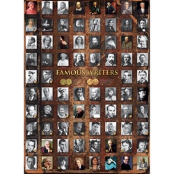 Puzzle 1000 piese Famous Writers