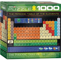 Puzzle 1000 piese The Periodic Table of Elements