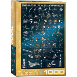 Puzzle 1000 piese Space Explorers