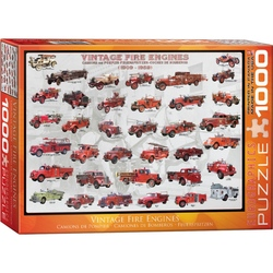 Puzzle 1000 piese Vintage Fire Engines