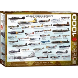 Puzzle 1000 piese World War II Aircraft