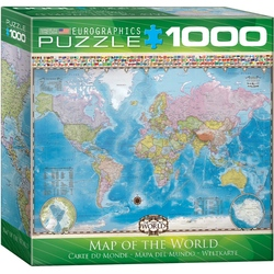 Puzzle 1000 piese Map of the World