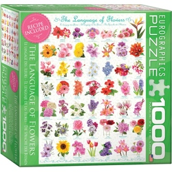 Puzzle 1000 piese The Language of Flowers