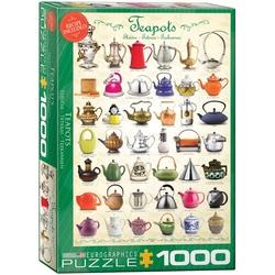 Puzzle 1000 piese Teapots
