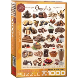 Puzzle 1000 piese Chocolate