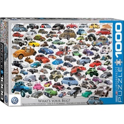 Puzzle 1000 piese What's your Bug?